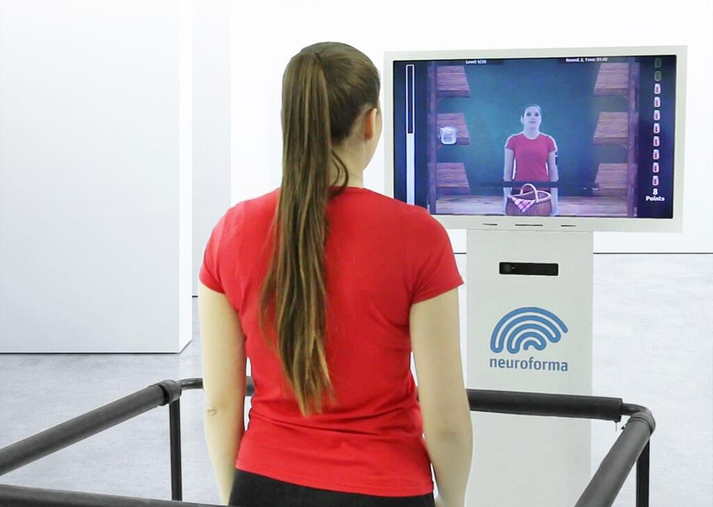 """Pažiūrėkite, kaip veikia """"Neuroforma PRO"""" - fizinės, kognityvinės ir pusiausvyros kontrolės reabilitacijos prietaisas"""